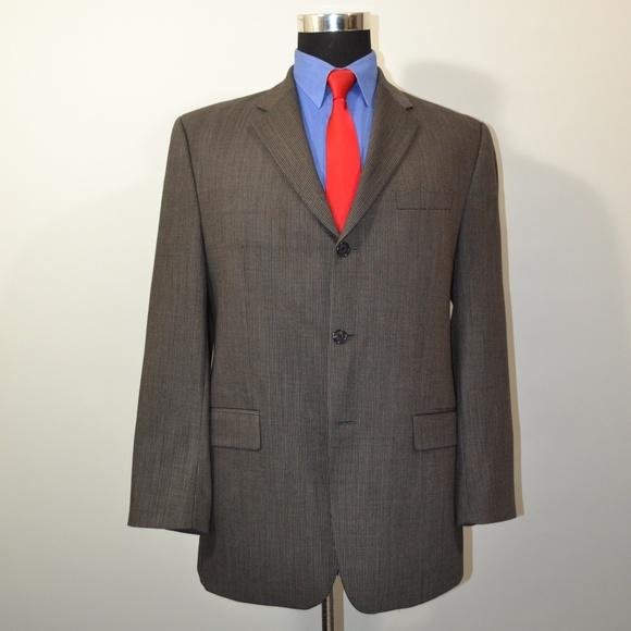 Calvin Klein Other - Calvin Klein 40R Sport Coat Blazer Suit Jacket Bla